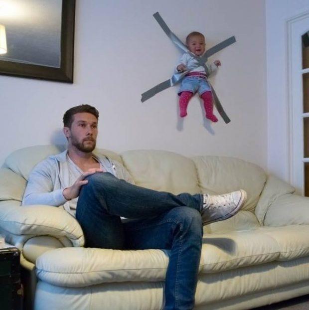 Situata reale mes babit dhe fëmijëve: Ja ç'ndodh në të vërtetë kur i lini vetëm