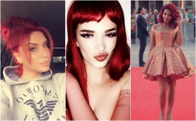 Flokë të kuqe flakë, ja si duken më të famshmet shqiptare me to (FOTO)
