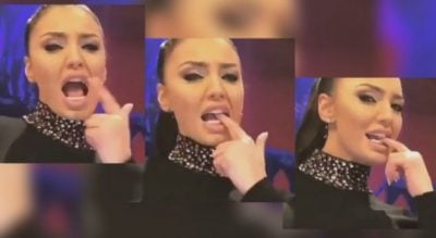 """Upss! Fifi """"tallet pak"""" me Gentën, shikoni çfarë i bën (VIDEO)"""