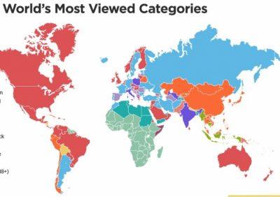 Kjo hartë tregon shumë! Çfarë lloj seksi preferojnë shqiptarët… dhe të tjerët (FOTO)