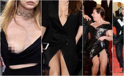 """Fotot/ Këto femra vip i ka ''tradhëtuar'' veshja… I nxorën të gjitha në """"shesh të burrave"""""""