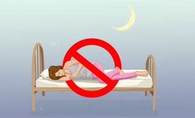 Pse nuk duhet të flini në krahun e djathtë