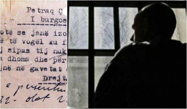Letra e një të burgosuri në Tiranë: Në tasin ku hamë ushqim, kryejmë dhe nevojat personale