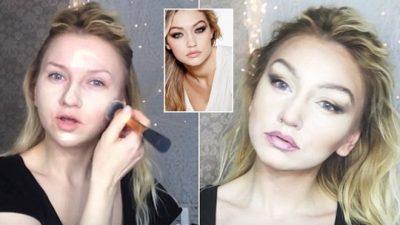 Si të bëni makijazhin e Gigi Hadid, dhe të dukeni me të vërtetë bukur (VIDEO)