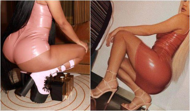 Këngëtarja shqiptare si Nicki Minaj, reklamon të pasmet me këtë pozë PROVOKUESE