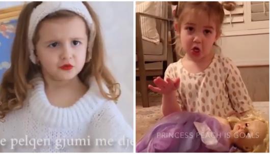 Vajza e Rezarta Shkurtës bëhet blogere. Vetëm se dikë tjetër ka kopjuar mami Rezi (VIDEO)
