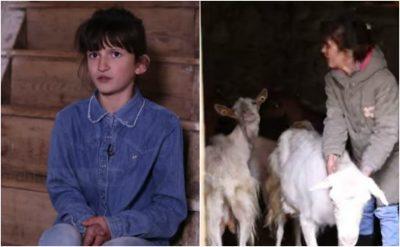 """Ruan dhitë në mal, 13-vjeçarja nga Kukësi mahnit jurinë e """"The Voice"""" (VIDEO)"""