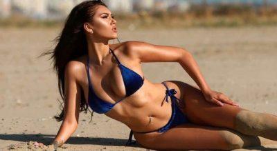 """""""Kim Kardeshiani shqiptarë""""/ Alesia Bami 'çmend"""" rrjetin me bikini dhe me…(FOTO)"""
