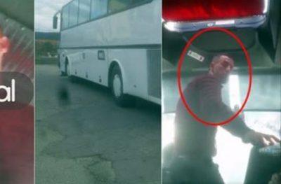 Faturino nga Elbasani kapet me vajzën: Ta thyej telefonin pas kokës, t'i q** robt! (VIDEO)