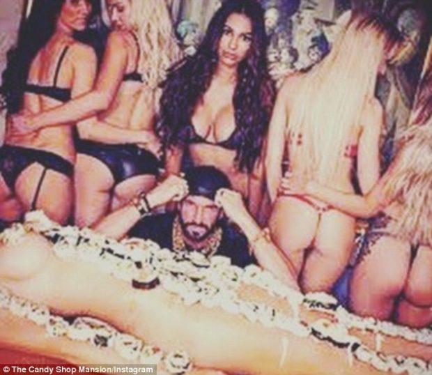 """Festa të çmendura, orgji e femra të zhveshura, Instagram i """"fik cigaren"""" bossit të duhanit"""