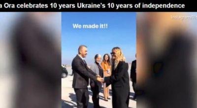 'Daily Mail' e ngatërron Kosovën me Ukrainën, kur raporton për ardhjen e Rita Orës
