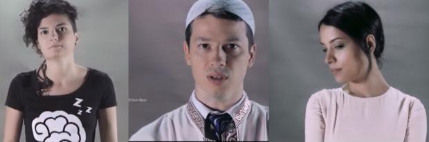 POLEMIKA/ Një imam mes një lesbikeje dhe nje romeje në një spot TV (VIDEO)