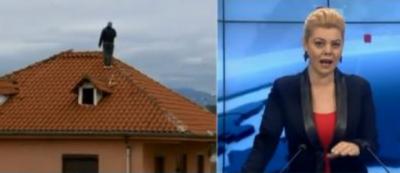 """Gazetarja i tha se është bërë modë, i riu që kërcënon të hidhet nga çatia: """"Nuk po bëj show moj"""""""