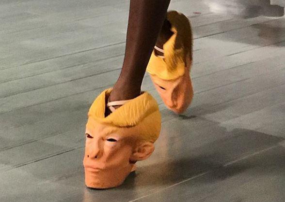"""Bëhuni gati! Java e """"çuditshme"""" e modës sjell veshje prezervativ dhe takat Trump (FOTO)"""