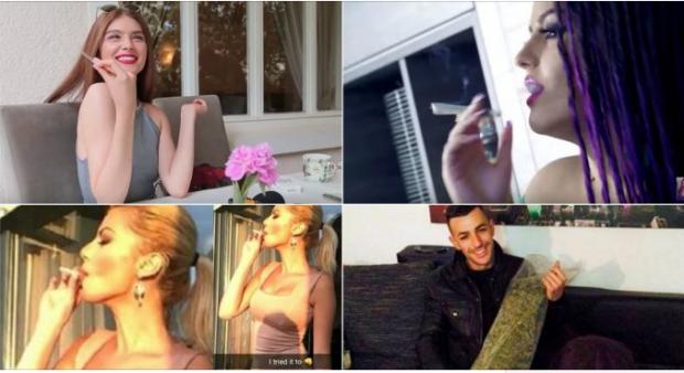 VIP-at shqiptarë që tymosin marijuanë dhe nuk kanë frikë ta tregojnë publikisht
