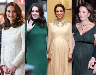 Po shtohet familja mbretërore, Kate Middleton do të lind binjakë (FOTO)