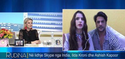 VIDEO/ Modelja shqiptare në lidhje me aktorin e famshëm të serialit Sarasvatiçandra flet për dashurinë
