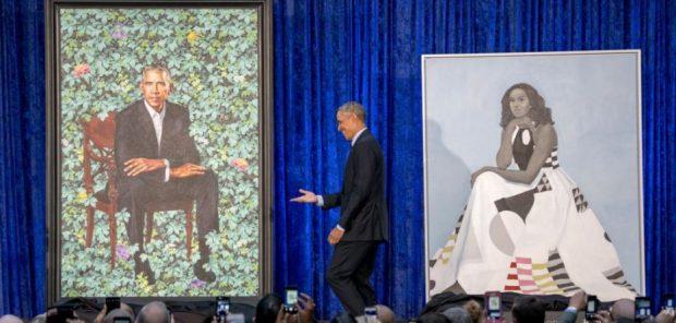 Portretet e çiftit Obama/ Emocionohet ish-Presidenti: Unë dhe Michelle jemi shumë mirënjohës për…