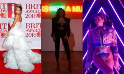 Nuk ua priste mendja? Shihni Oriola Marashin në ekranin e BRITs 2018 (FOTO)