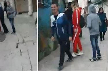 I kishte shkruar të dashurit të saj, vajza e fëlliq në mes të Durrësit: O tq****a robt, o ku**ë (VIDEO)