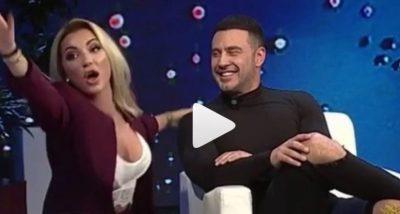 Emisioni me batutat erotike, Roza me Robertin: Zemër u prishe? Nga e nxore? Fute ku ishte
