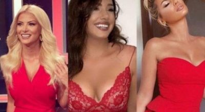 Vetëm me të kuqe, vajzat e njohura shqiptare ju japin ide si të dukeni seksi për Shën Valentin