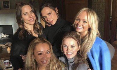 Publikohet foto e parë e ribashkimit të Spice Girls