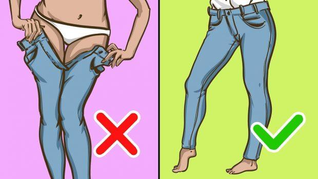 Si të zgjedhim xhinset e duhura sipas formës së trupit (FOTO)