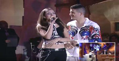 VIDEO/ Si dukeshin Elvana Gjata dhe Ermal Mamaqi vite më parë kur këndonin bashkë