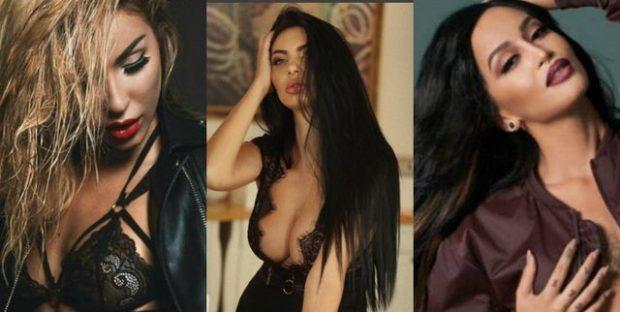 Vajzat shqiptare VIP që kanë bërë gjoksin: Ja si duken ato para dhe pas OPERACIONIT