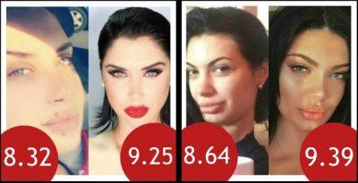 Me dhe pa makeup, ja sa të bukura janë të famshmet tona sipas këtij programi (FOTO)
