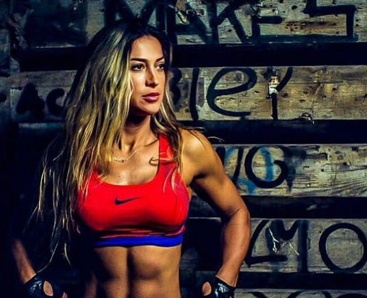 """Geta Beqa publikon këtë fotografi me përplot muskuj por """"aspak"""" femërore (FOTO)"""