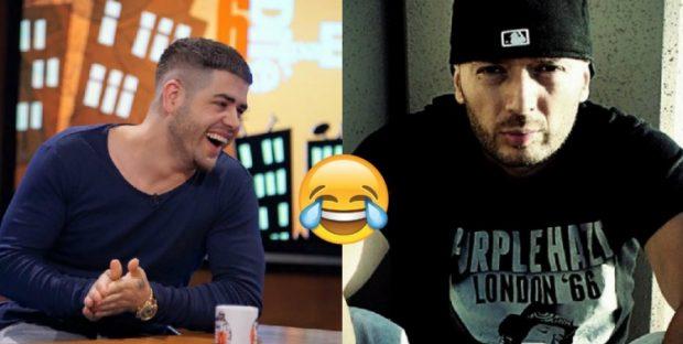 Publikuan këngët në të njëjtën ditë, shikoni si e ironizon Noizy, Unikkatilin (FOTO)