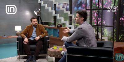 Aktori shqiptar nxehet me moderatorin në emision: Më the edhe 1 herë s'je normal t'u çova…