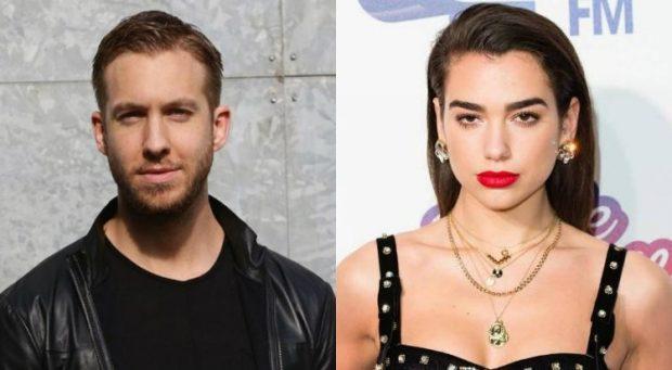 Dua Lipa flirton me Calvin Harris, një lidhje e re në botën e showbizz-it? (FOTO)