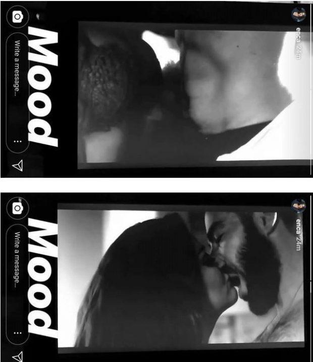 """VIDEO/ Enca në skena të forta erotike me një burrë të martuar, """"i vë zjarrin"""" rrjetit"""