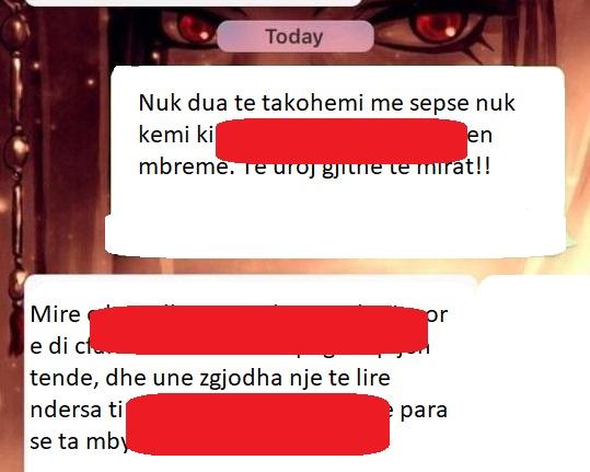 E njohu online dhe lanë një takim, vajza shtanget nga mesazhi që i vjen një ditë më vonë