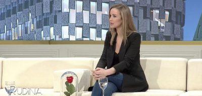 """Spikerja """"hap zemrën"""" te Rudina: Hera ime e parë në televizion ka qenë e tmerrshme…"""