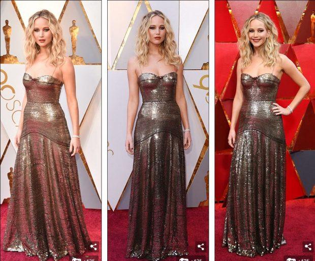 Veshjet më të mira në Oscar 2018! Femrat që shkëlqyen në të artë (Foto)