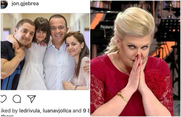 Jon Gjebrea poston foton familjare, komenti i Eni Çobanit nuk pritej: Ju jeni…