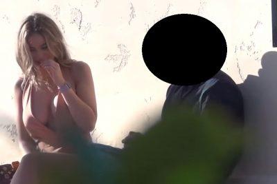 VIDEO/ Kap të dashurin me një tjetër, i bën gjëmën në mes të lokalit