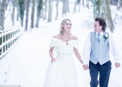Këtë çift nuk e frikëson as 'Bisha…', bëjnë dasmë në mes të dëborës (FOTO)