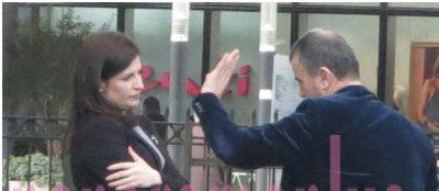 """I flet me """"këmbë e me duar"""", ja si sillet ministrja e Drejtësisë me deputetin (FOTO)"""