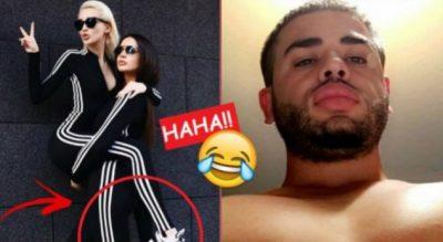 Modelet në momente provokuese, komenti i Noizyt acaron Oriolën