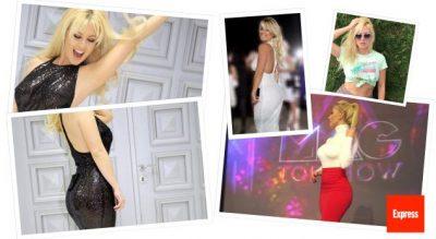 A është kjo artistja më seksi shqiptare (FOTO)