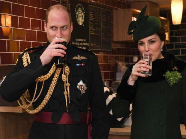 """Festa e """"Shën Patrikut"""" deh Princin britanik. Po Princesha, çfarë piu…"""