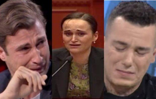 Mbani një shami me vete! 8 qarjet më të famshme në Shqipëri: Ja VIP-at që derdhën lot në TV
