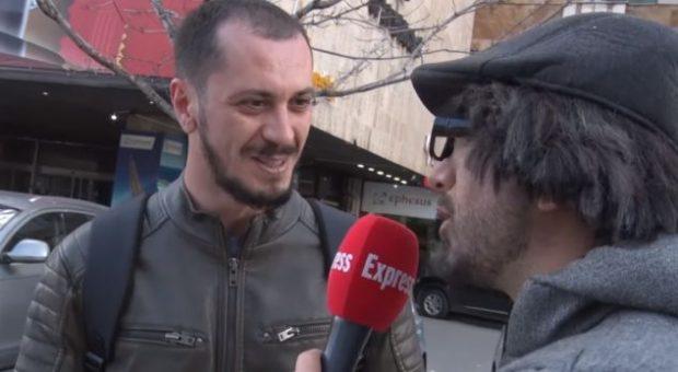 """""""NJË M*T""""/ Qytetari fëlliq hapur Gjikon"""