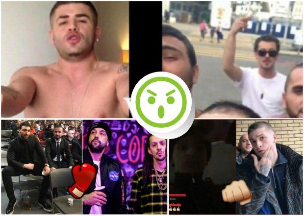 Nga Babastarsat, Noizy deri te Fero. Të gjitha sherret e reperve shqiptarë që degraduan në dhunë (FOTO+VIDEO)