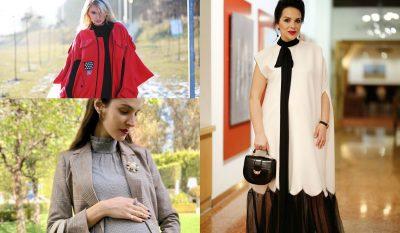 """10 ide si të vishesh kur je shtatzënë dhe të ngjash femra më """"cool"""" (FOTO)"""